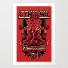 Cthulhu Lives Art Print