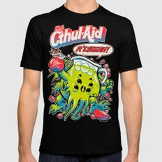 CTHUL-AID Black LARGE Mens Fitted Tee