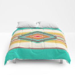 FIESTA (teal) Comforters