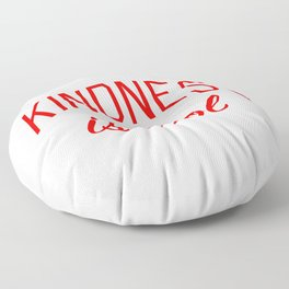 Kindness is Cool Floor Pillow