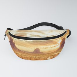 Monument Valley Sunrise Fanny Pack