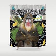 MANDRIL Shower Curtain