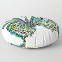 Fly Butterfly Floor Pillow