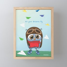 Let Your Dreams Fly Framed Mini Art Print