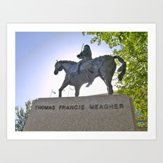 Thomas Francis Meagher August 3, 1823 – July 1, 1867 Art Print