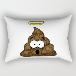 Holy Crap! - Bathroom Humor - Poop - 57 Montgomery Ave Rectangular Pillow