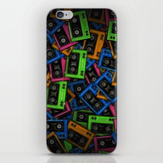 Cassete iPhone & iPod Skin