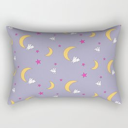 Usagi Tsukino Sheet Duvet - Sailor Moon Bunnies V2 Rectangular Pillow