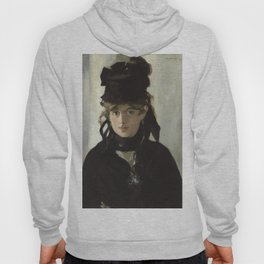 Edouard Manet - Young woman in a black hat Hoody
