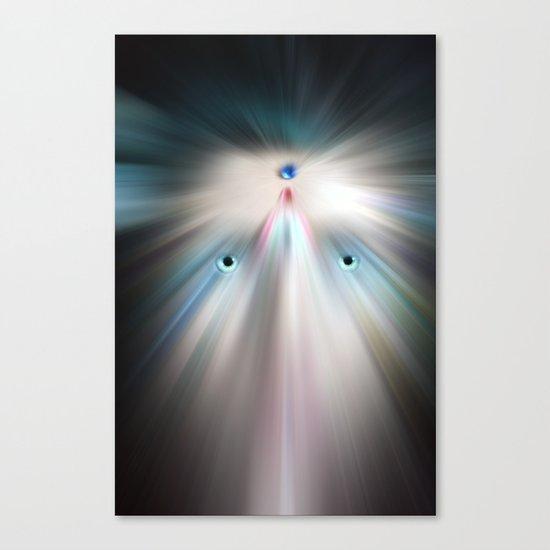 Future Human Canvas Print