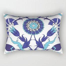 Turkish Tile Art Pattern Rectangular Pillow