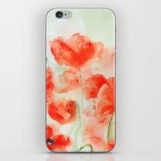 Flanders Poppies iPhone & iPod Skin