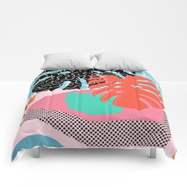 Memphis Palm Comforters