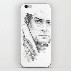 bonobo dot work portrait iPhone & iPod Skin
