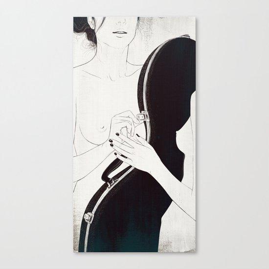 Duet. Pt.1 Canvas Print