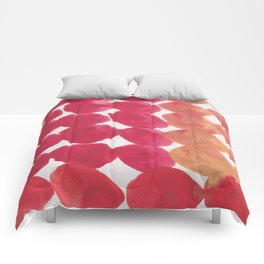15   | 190408 Red Abstract Watercolour Comforters