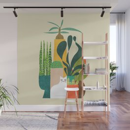 Still life with cat Wall Mural