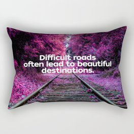 Infrared Forest Rectangular Pillow