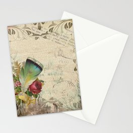 Vintage Boho Chic Stationery Cards