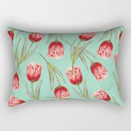 Tropical leaf pattern 5.2 Rectangular Pillow