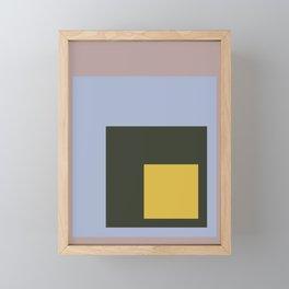 Color Ensemble No. 9 Framed Mini Art Print