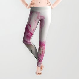 Pink Peonies 2 Leggings