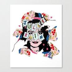 JuLiE RuiN!!! Canvas Print