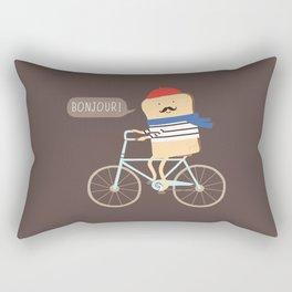 french toast Rectangular Pillow