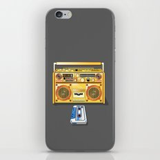Droid Ghettoblaster Boombox iPhone & iPod Skin