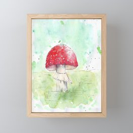 amanita Framed Mini Art Print