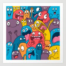 Weird Bros Art Print