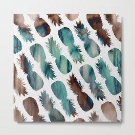 Pineapple-palooza Metal Print