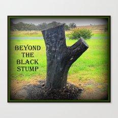 Beyond the Black Stump Canvas Print