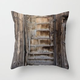 Santa Rosa Slats Throw Pillow