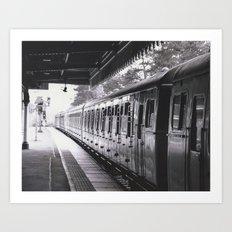 All Trains Lead To Chistlehurst Art Print