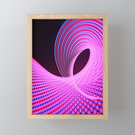 Light Experiments Part 1 Framed Mini Art Print