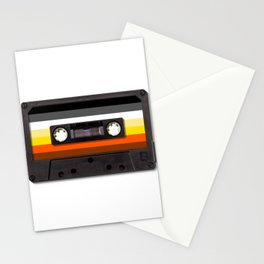 Gay Bear Mix Tape for LGBT  Stationery Cards