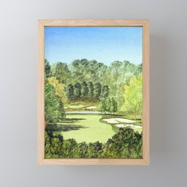 Glen Abbey Golf Course Canada Framed Mini Art Print