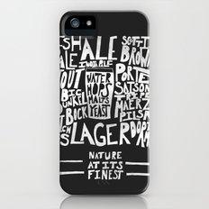 Beer : Black Slim Case iPhone (5, 5s)