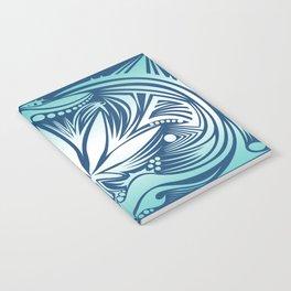 Weed3 IceBlue Notebook