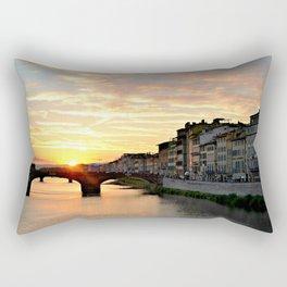 Sunset in Tuscany Rectangular Pillow