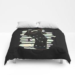Virgo - Zodiac Illustration Comforters