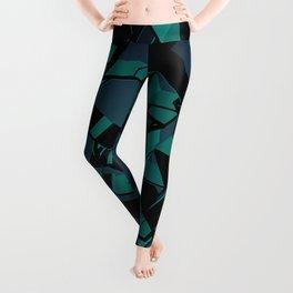3D Mosaic BG IV Leggings