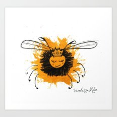 Queen Bee Art Print