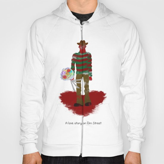 A Love Story on Elm Street Hoody