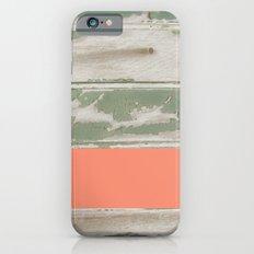 Wood Color Block Slim Case iPhone 6s