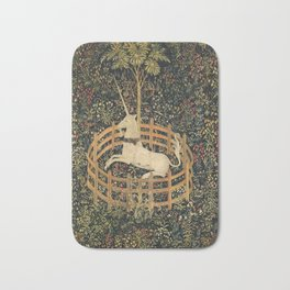 The Unicorn In Captivity Bath Mat