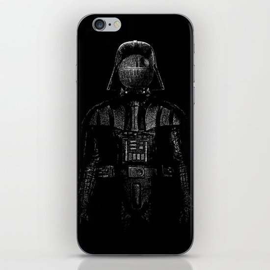 Darth Magritte iPhone & iPod Skin