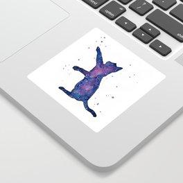 Galactic Cat Sticker