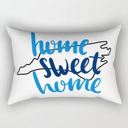 Home Sweet Home North Carolina Rectangular Pillow
